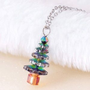 🎄 Christmas Tree Necklace 🎄